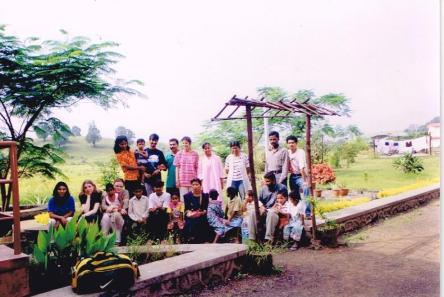 Team at a rehabilitation home for women and children with AIDS.