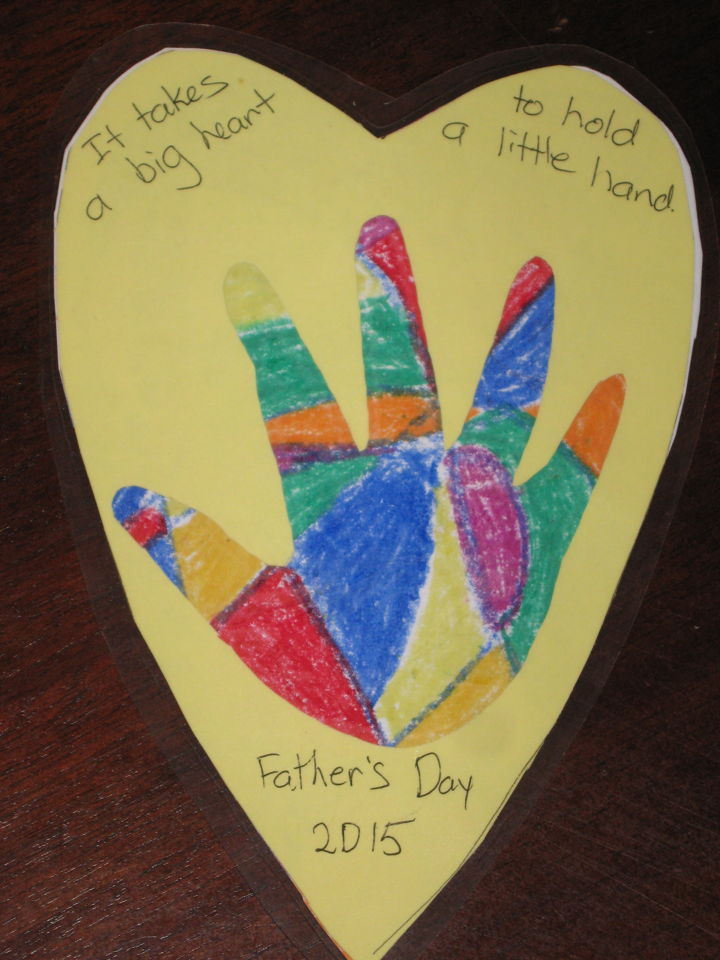 Father S Day Craft For Toddlers Pumpkins And Me